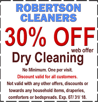 dry cleaning coupon